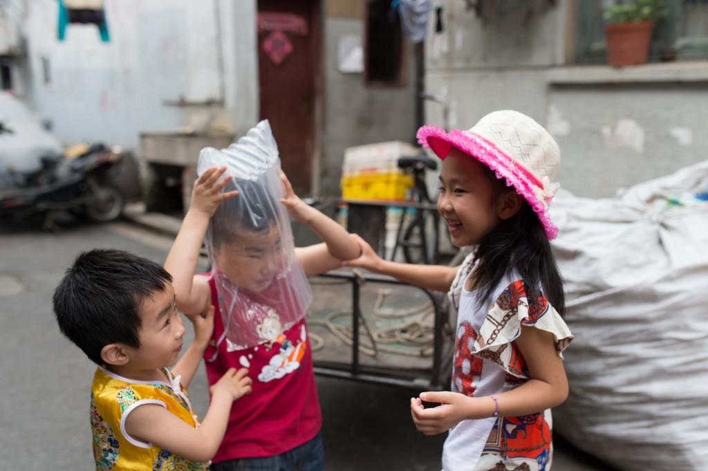 上海スナップ子ども