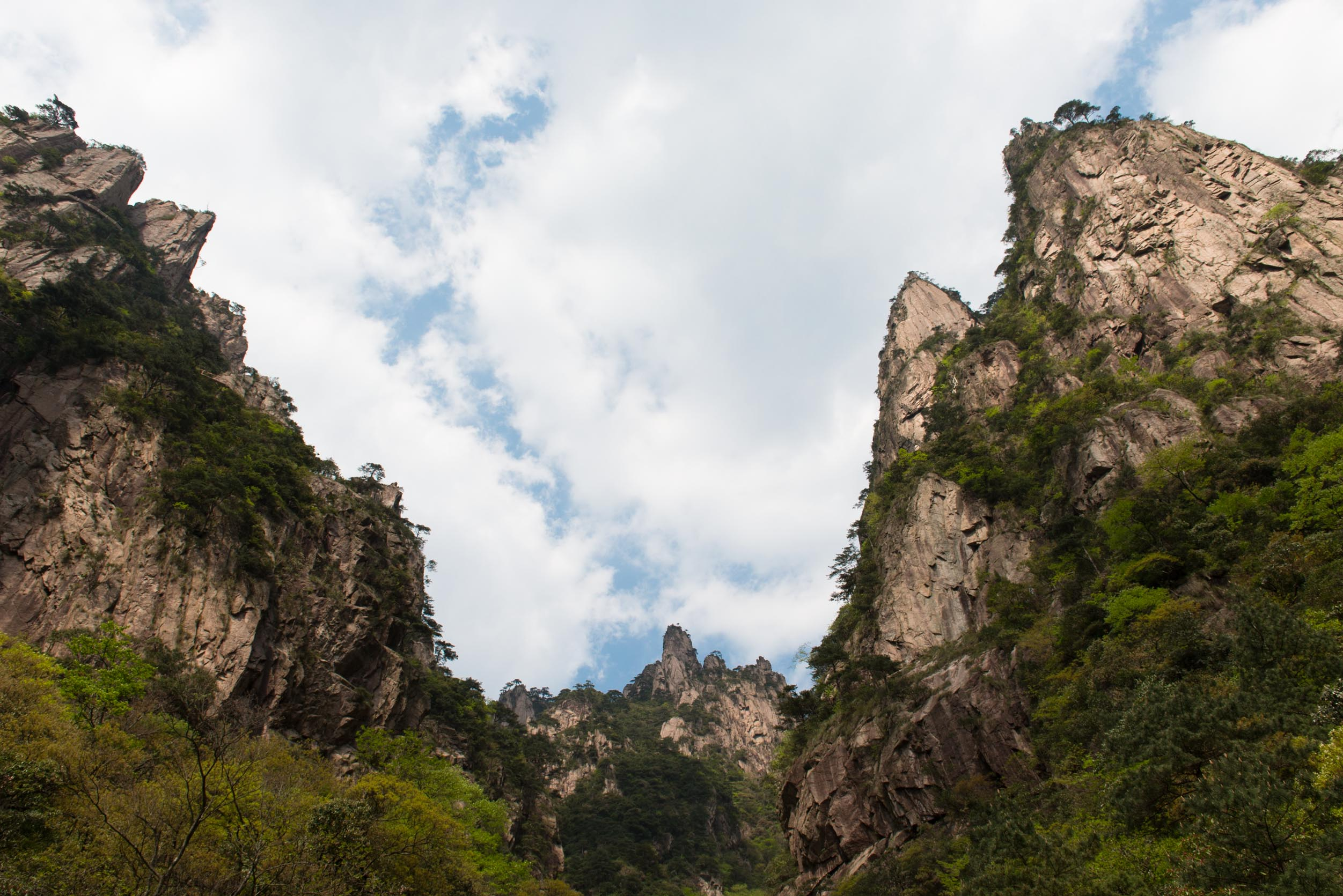 黄山_世界遺産 中国安徽省黄山