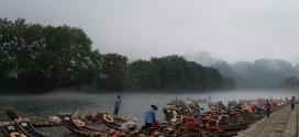 武夷山の乗船口